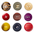 Sewing button clothing Royalty Free Stock Images