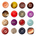 Sewing button clothing Royalty Free Stock Image