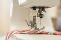 Sewing machine. Royalty Free Stock Image