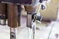 Sewing machine Royalty Free Stock Photo