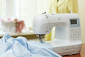 Sewing machine dummy and other equipment Stock Images