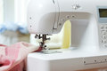 Sewing machine and other equipment Royalty Free Stock Images