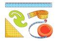 Sewing measure tools