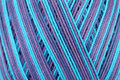 Sewing thread close up blur color in spool Stock Photo