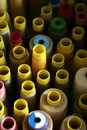 Sewing thread Spools Stock Images