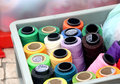 Sewing Threads set Stock Photography