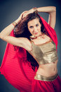 Sexy arabian dancer Royalty Free Stock Photo