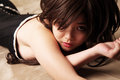 Sexy Asian girl Royalty Free Stock Photo