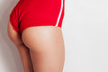 Sexy beautiful athletic ass woman Royalty Free Stock Photo