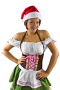 Sexy Christmas Elf Royalty Free Stock Photo