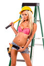 Sexy Construction Worker Royalty Free Stock Images