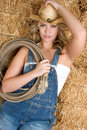 Sexy Country Girl Royalty Free Stock Photography
