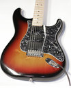 Sexy Fender Stratocaster Guitar Royalty Free Stock Photo