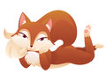 fox posing