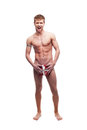 Sexy holiday man Royalty Free Stock Images