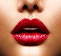 Lips Royalty Free Stock Photo