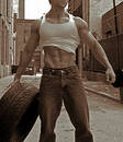 image photo : The sexy mechanic