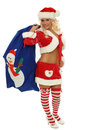 Sexy mrs santa clause Royalty Free Stock Photo