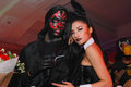 Sexy playboy girl bangkok oct an unidentified in s gothic halloween on october at grand postal building bangkok thailand Stock Photos