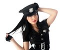 Sexy police woman Royalty Free Stock Photography
