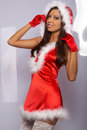 Sexy Santa Woman Stock Photos