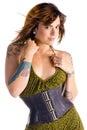 Sexy Tattooed Woman Royalty Free Stock Photo