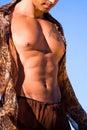 Sexy torso. Stock Foto's