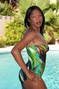 Sexy woman in swimwear. Royalty Free Stock Photo