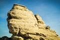 Sfinx Bucegi mountains Royalty Free Stock Photo