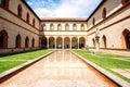 Sforza castle in Milan Royalty Free Stock Photo