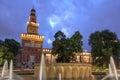Sforza Castle, Milan, Italy Royalty Free Stock Photo