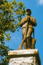 Sgt. William H. Carney Statue in West Point Cemetery in Norfolk, Virginia Royalty Free Stock Photo