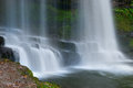 Sgwd yr eira image of the waterfall found in the brecon beacons in wales Royalty Free Stock Image