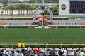 Sha Tin Racecourse : Queen Elizabeth II Cup Stock Photo