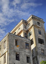 Shabby building in Old Havana Stock Images