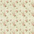 Shabby Chic Background Collage Paper - Pink Roses - Romantic - Feminine