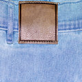 Shabby jeans pocket Royalty Free Stock Image