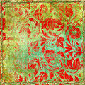 Shabby red patterns Royalty Free Stock Photo