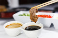 Shabu beef Royalty Free Stock Photography