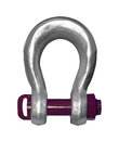 Shackle isolated heavy duty with clipping path Stock Photo