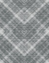 Shade less pattern collected from the intersecting rhombuses of gray shades Royalty Free Stock Photo