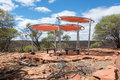 Shade Shelter: Kalbarri National Park Royalty Free Stock Photo