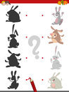 Shadow game with rabbits