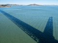 Shadow, Golden Gate Bridge Royalty Free Stock Photo