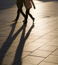 Shadows and silhouettes Royalty Free Stock Photos