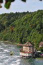 Shaffhuzen river switzerland in zurich Royalty Free Stock Photos