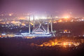 Shah Faisal Mosque Islamabad Royalty Free Stock Photo