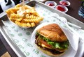 Shake shack burger Royalty Free Stock Photo