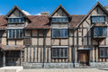 Shakespeares house the ancient in stratford upon avon uk william birthplace Royalty Free Stock Photo