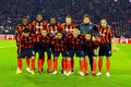 Shakhtar team Stock Image